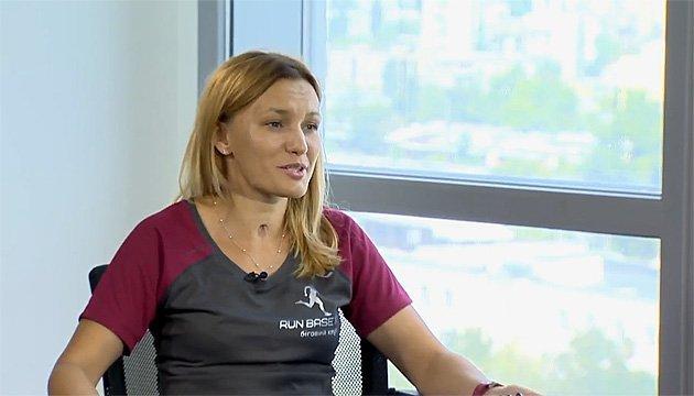 Азарова: Щоб успішно фінішувати марафон, за місяць потрібно пробігти 250 км