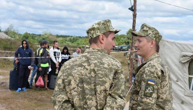 Reservistenübung in Regionen Dnipropetrowsk und Lwiw