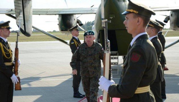 Polnischer Generalstabschef besucht die Ukraine