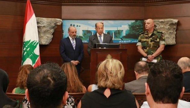 Президент Лівану оголосив про перемогу над
