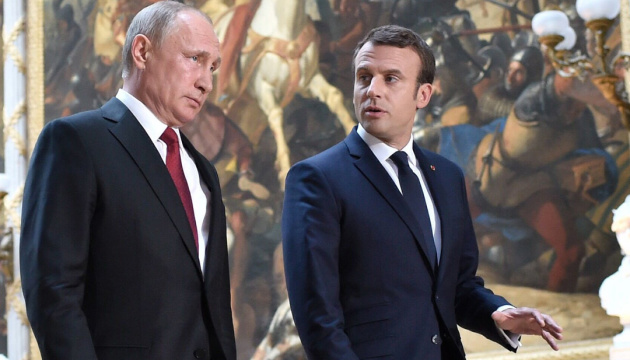 Macron disagrees with Putin on Ukraine