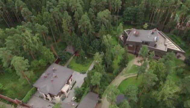 Luftaufnahmen: Journalisten zeigen angebliches Anwesen von Ex-Präsident Janukowytsch nahe Moskau