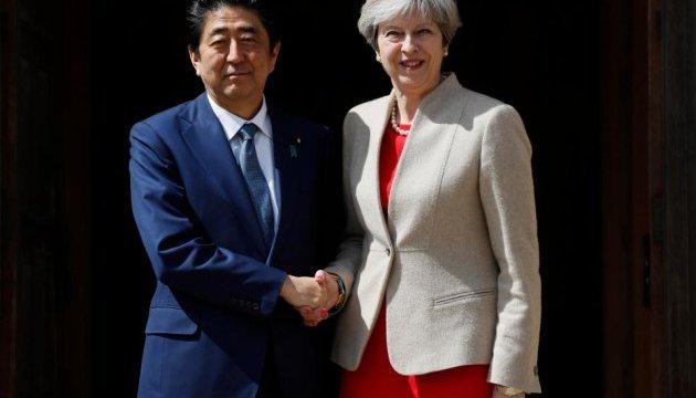 Японія та Британія разом протистоятимуть ядерній загрозі КНДР