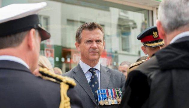 UK armed forces minister arrives in Ukraine