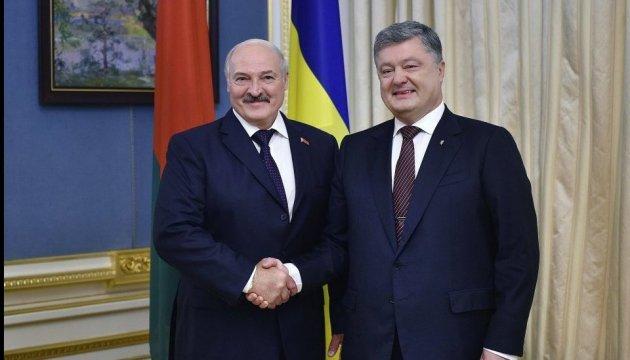 Porochenko et Lukachenko discutent de coopération économique et culturelle