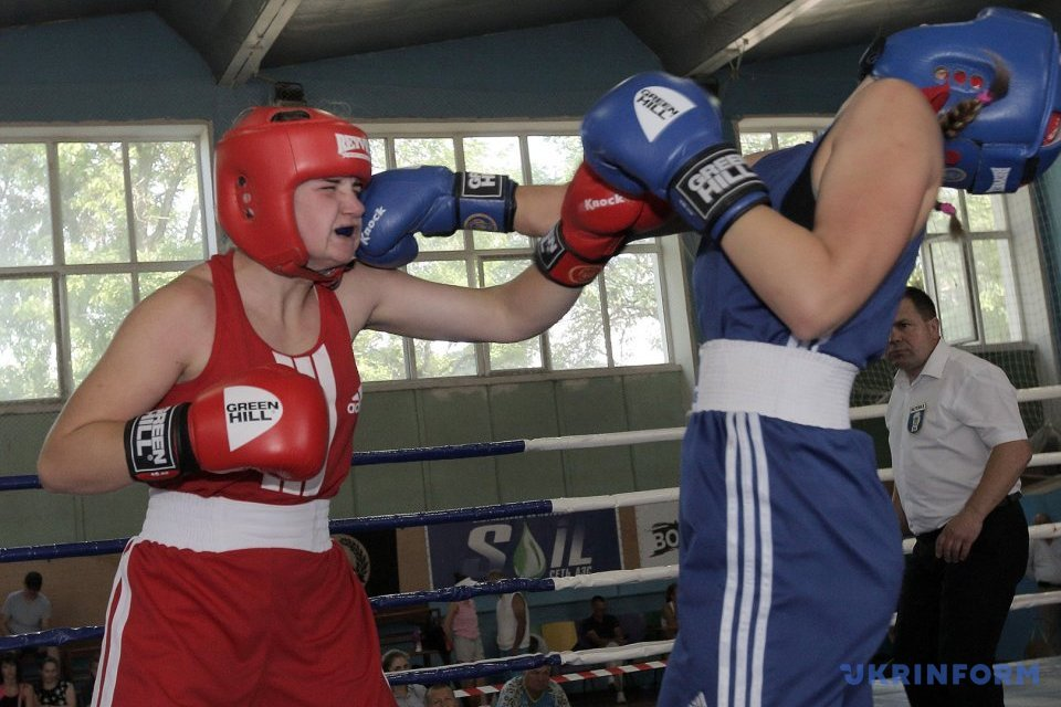 Ukrainian women's boxing cup in Kharkiv / Photo: Viacheslav Madiyevsky, Ukrinform