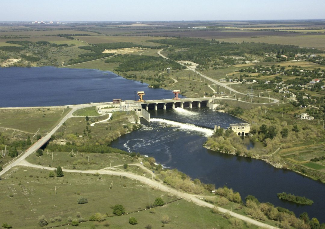 Александровская ГЭС. Фото: sunpp.mk.ua