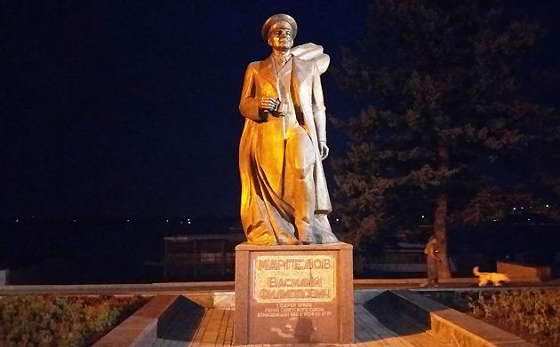 Пам'ятник засновнику ПДВ, генералу Маргелову, (