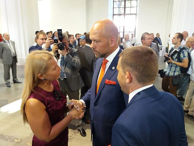 Спілкування Юлії Тимошенко з Павлом Гродом