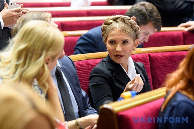Юлія Тимошенко. Фото: Владислав Мусієнко