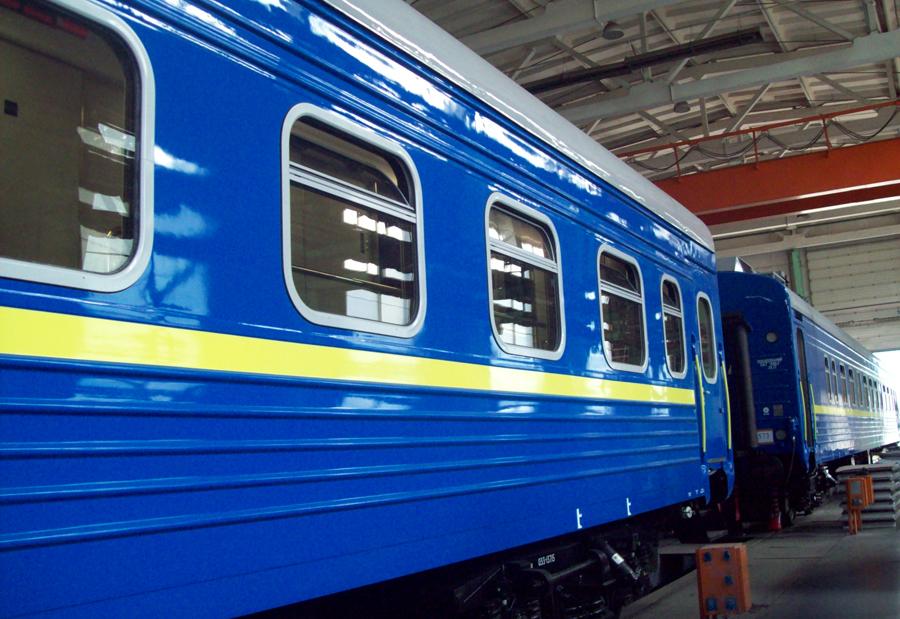 Новий пасажирський купе-вагон Укрзалізниці