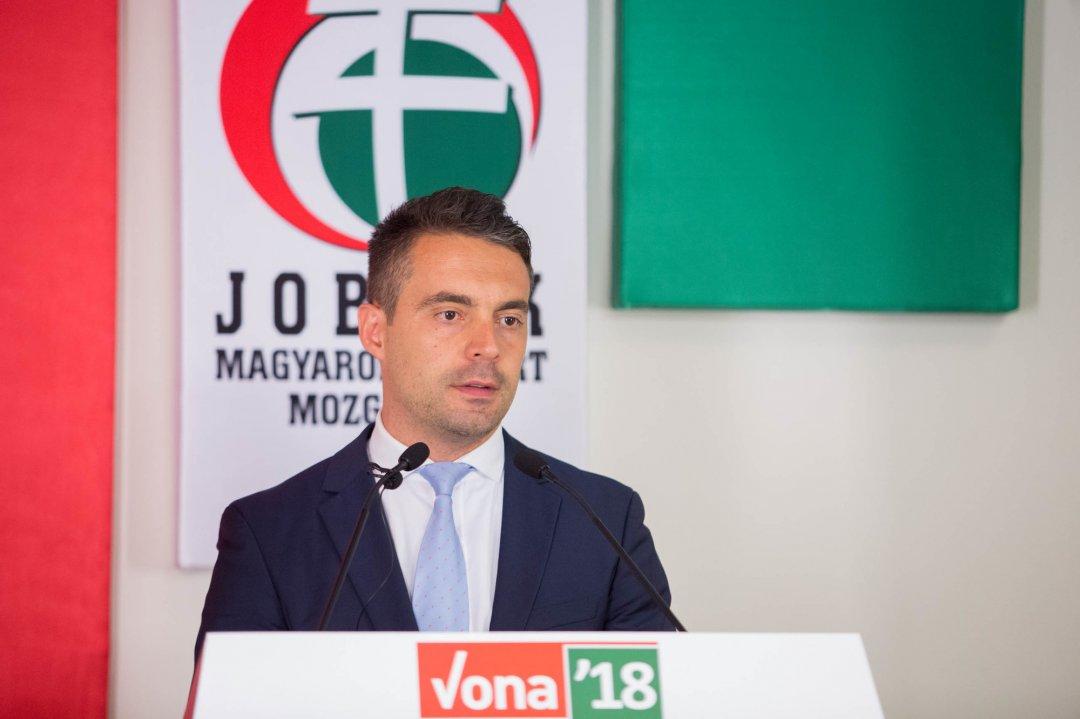 Габор Вона, лідер угорської ультраправої політичної партії