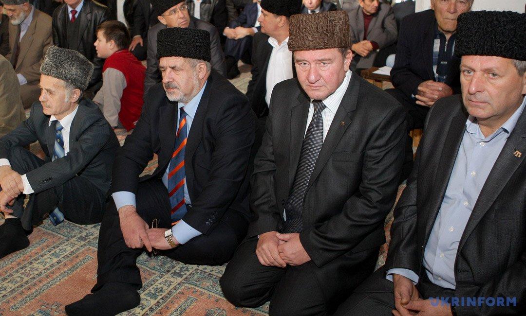 Ахтем Чийгоз, Ільмі Умеров, Рефат Чубаров і Мустафа Джемілєв