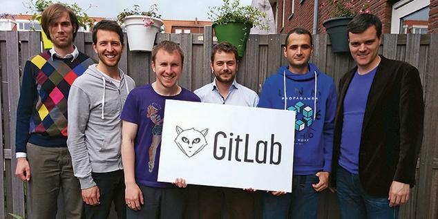 На фото - команда розробників хмарної технології GitLab