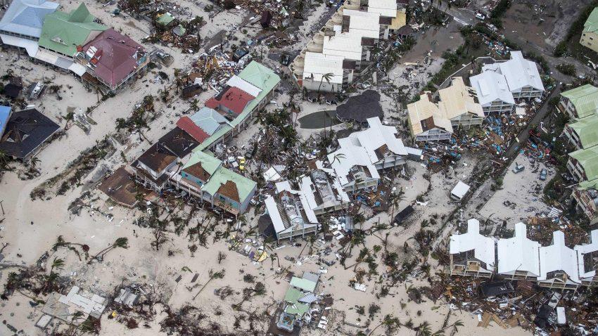 Ураган «Ірма» пройшов над островами Карибського басейну