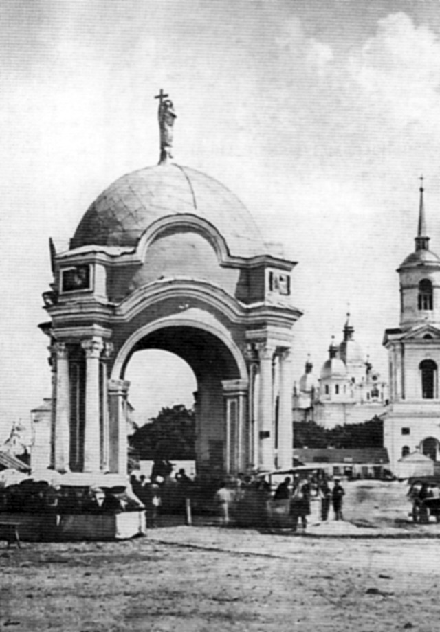 Павільйон над фонтаном за проектом Григоровича-Барського