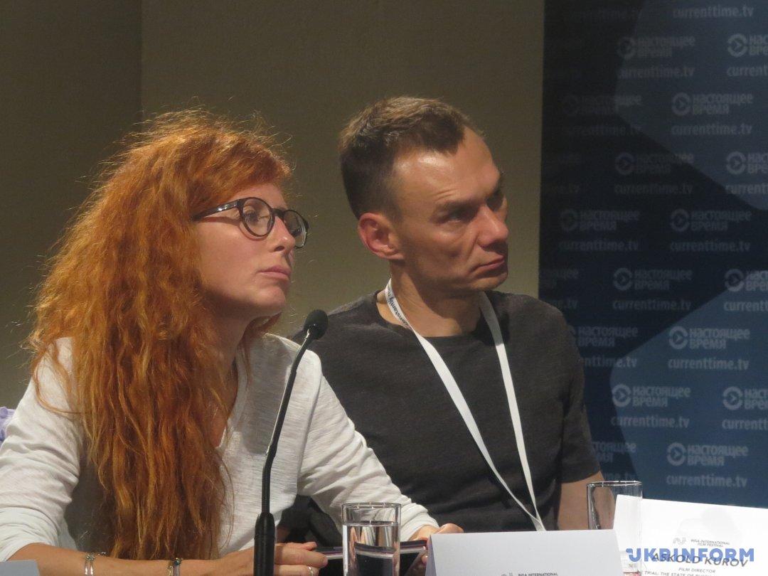 Вера Кричевская и Аскольд Куров