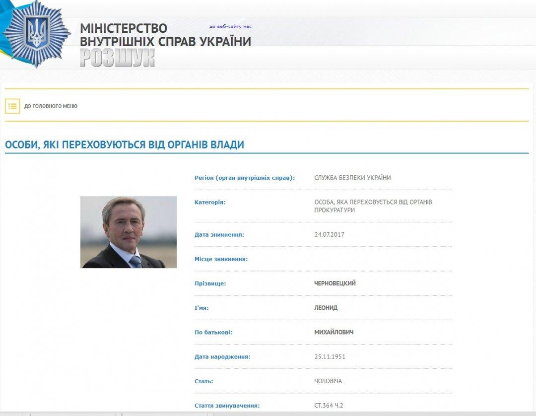Экс-мэр столицы Украины Черновецкий: Мой адрес есть впрокуратуре