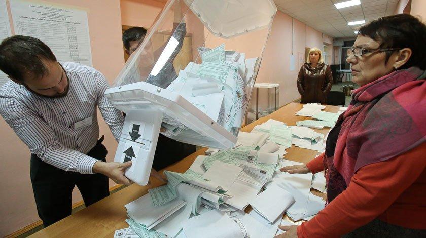 Підрахунок голосів муніципальних виборів у Москві