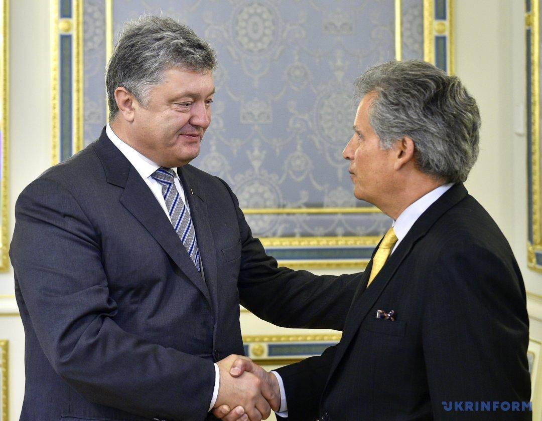 Петро Порошенко і Девід Ліптон обговорили перспективу нового траншу МВФ (13 вересня, 2017)