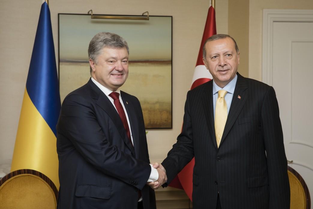 Порошенко Эрдоган. Фото: president.gov.ua