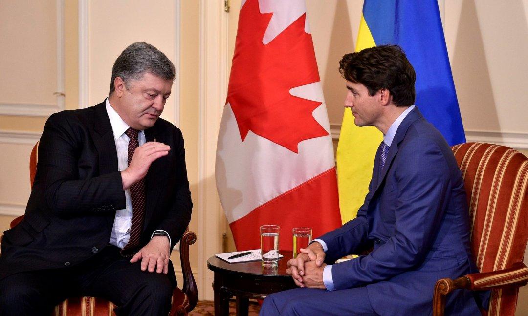 Спрощення візового режиму зКанадою: Порошенко зробив заяву