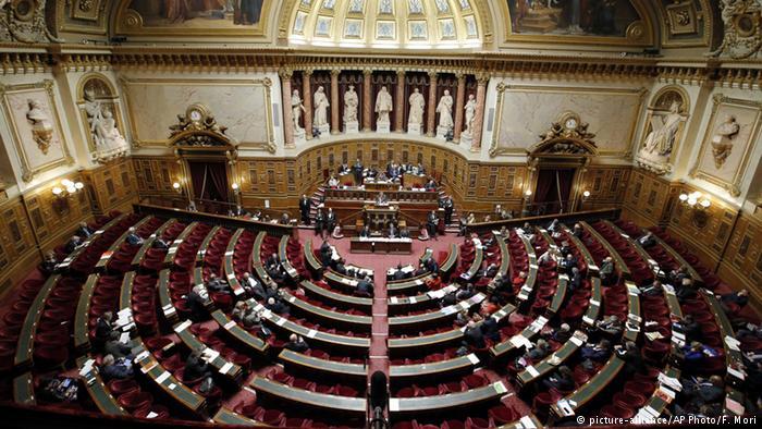 Зал засідань Сенату Франції