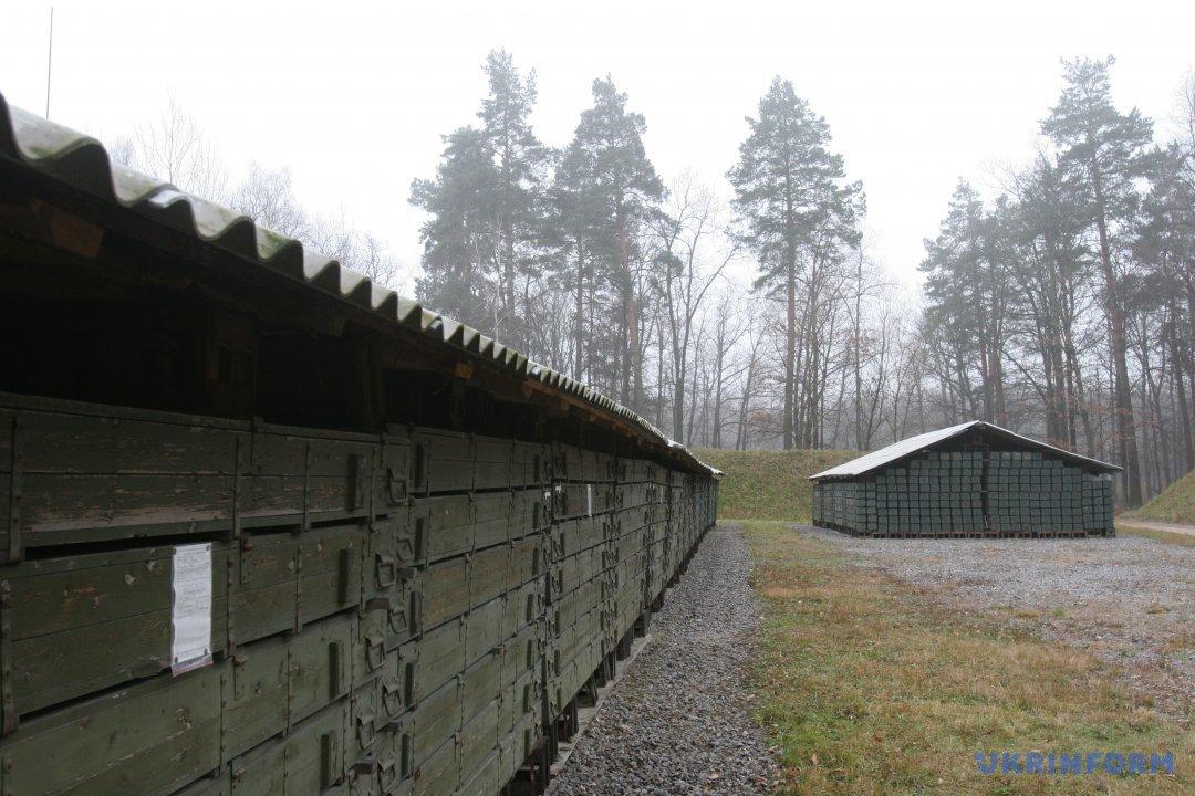 Склад боєприпасів у Калинівці/ Фото з архіву Укрінформу