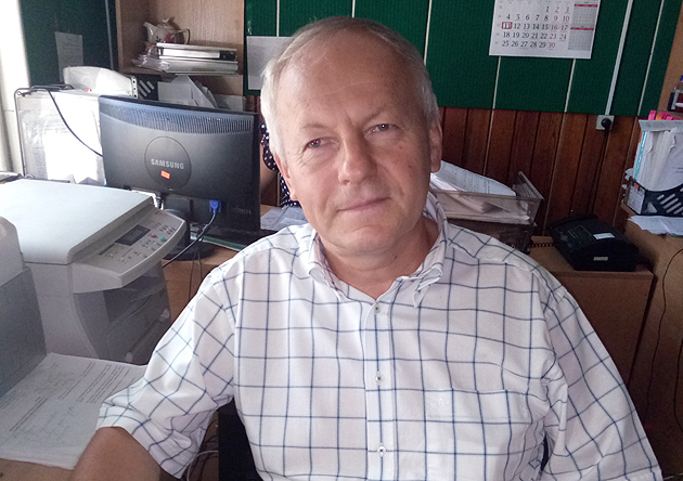 Директор РЛП «Тилігульський» Олег  Деркач
