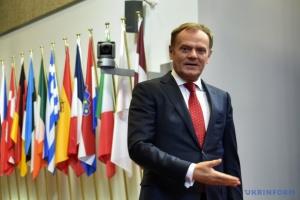 Туск: Чим кращими є відносини з Україною, тим безпечнішою є Польща