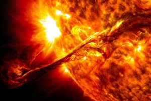 У неділю стався найбільший за останні три роки сонячний спалах