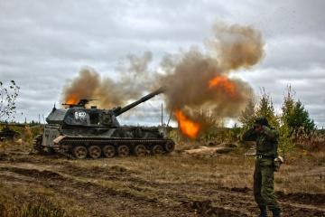 La situation dans la zone du conflit : les combattants pro-russes déploient des mortiers et des chars