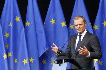 """Tusk nazwał sytuację na Ukrainie """"pierwszym testem"""" na jedność Unii Europejskiej"""