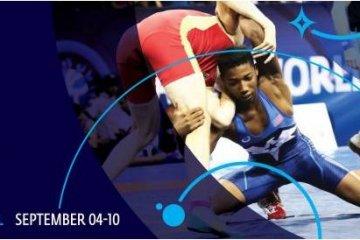Luchadores grecorromanos de Ucrania ganan 5 medallas en el Campeonato Mundial