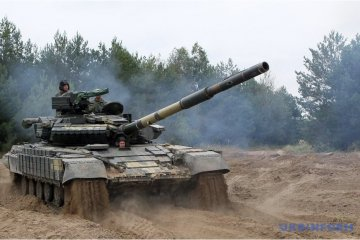 Le concours pour le titre du meilleur peloton de chars ukrainien se tient à Tchernigiv (photos, vidéo)