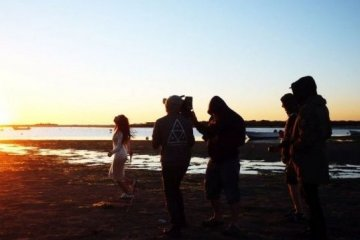 Nueva canción de Jamala bailando al borde del acantilado (Fotos, Vídeo)