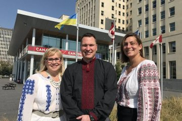 Canadian ministers praise contribution of Ukrainians to development of Canada