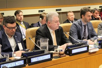 Yelchenko comments on updated draft resolution on human rights situation in Crimea