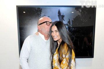 Demi Moore a mis une robe brodée d'une designer ukrainienne (photo)