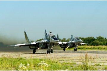 Ukrainische Luftstreitkräfte in Kampfbereitschaft versetzt