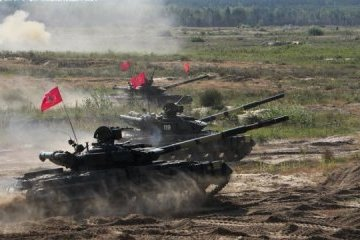 Nombran la mejor sección de tanques de las FFAA en la región de Cherníguiv