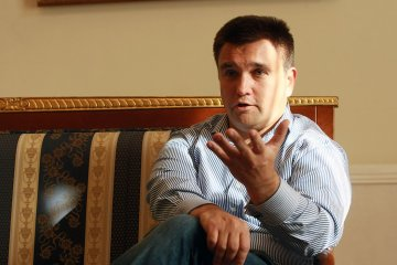 Russia must leave Donbas before peacekeepers come - Klimkin