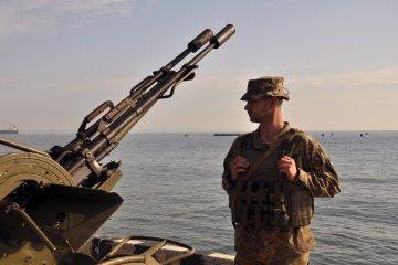 Непохитна стійкість 2017: морпіхи взяли під охорону Одеський порт