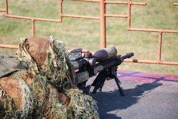 National Guard holds competitions for snipers