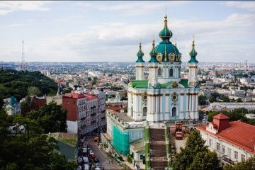 Sigue creciendo el número de turistas extranjeros de Kyiv