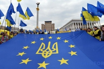 Nearly half of Ukrainians support accession to EU