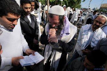 Más de 21.600 peregrinos jasidim ya han acudido a Uman