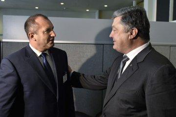 Порошенко подякував президенту Болгарії за підтримку України