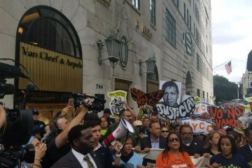 У Нью-Йорку арештували трьох конгресменів за протести перед Trump Tower