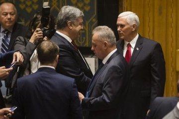 Pence llama a Rusia una de las amenazas a la paz
